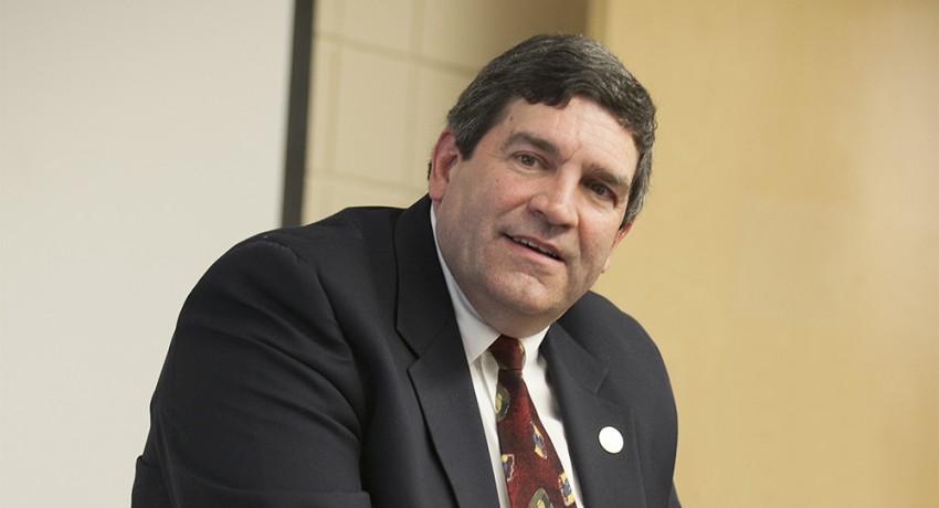 Worcester State University Associate Professor of Criminal Justice Stephen Morrealle