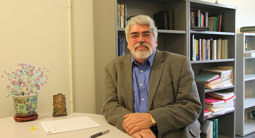 Worcester State University Professor of Psychology Charles Fox
