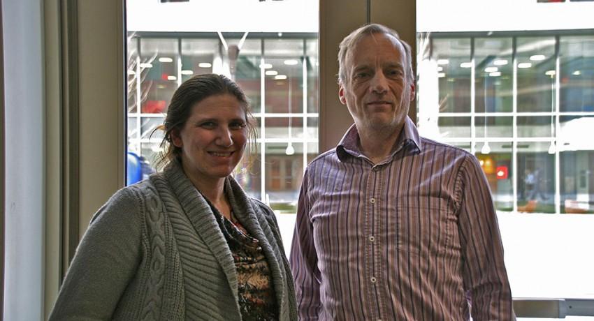 Worcester State University Assistant Professor of History Erika Briesacher and Associate Professor of Criminal Justice Robert Brooks