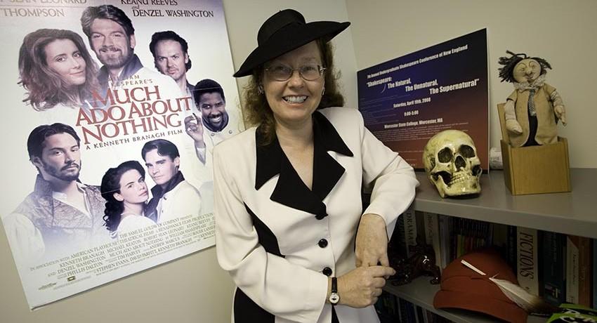 Worcester State University English Professor Sharon Yang