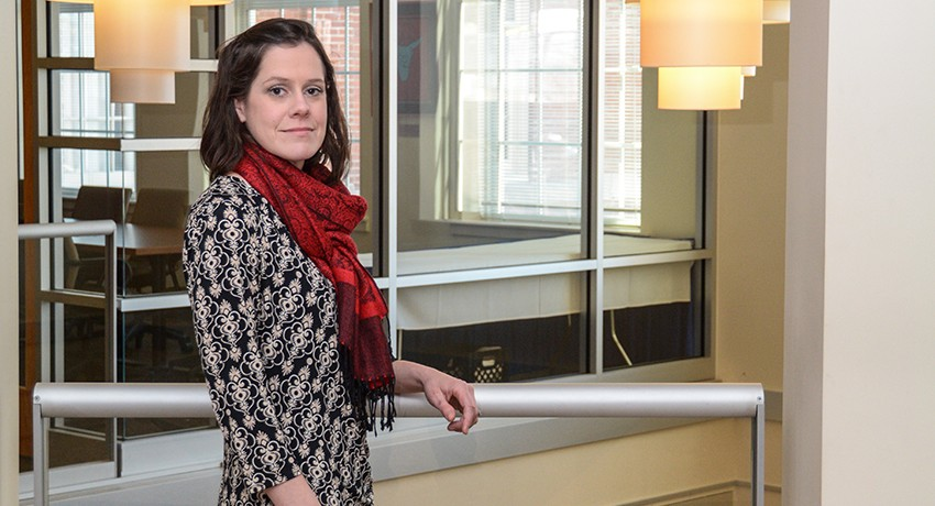 Worcester State University Assistant Professor of Urban Studies Madeline Otis Campbell