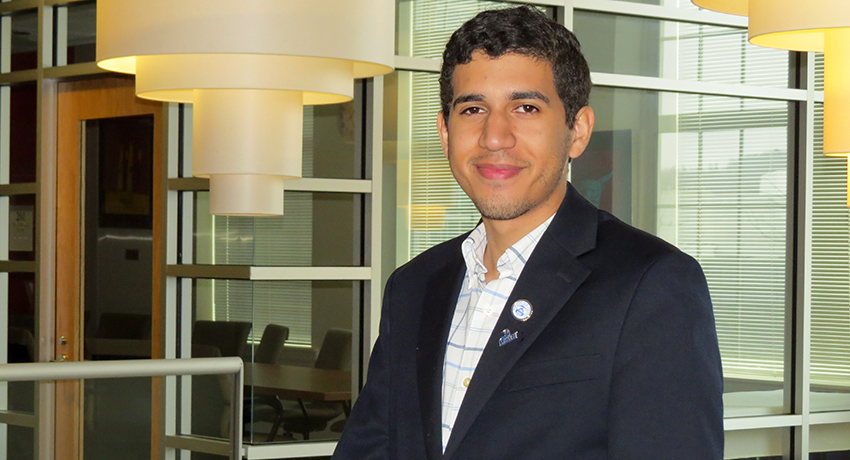 Worcester State University student is a fellow with SeedMA.
