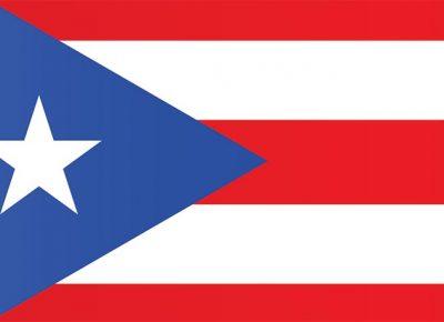 Puerto Rico flag graphic
