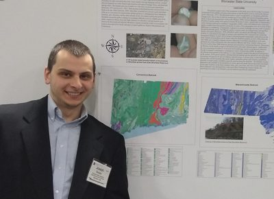 Geography major Joe Dusza