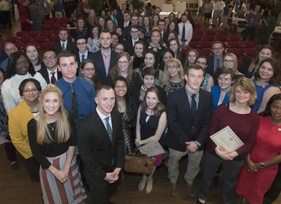 2018 Academic Achievement Awards recipients