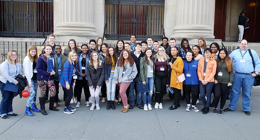 Members of CLEWS in New York City