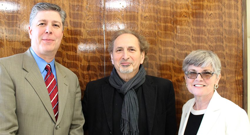 Peter Balakian with Barry Maloney and Lois Wims