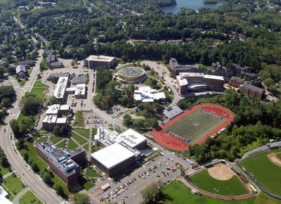 Worcester State University 58-acre campus